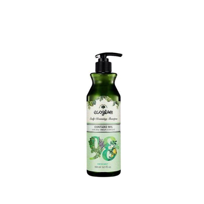 Happy Shop | ecoglam shampoo 500ml mint